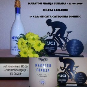 1^ Classificata Donne C Chiara Lazzarini